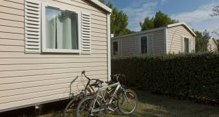 Mobil homes du camping le trivoly