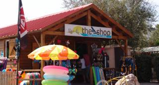 Boutique the shop du camping les Dunes Torreilles Plage