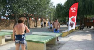Tables de ping ping du camping le trivoly